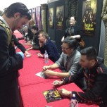 'Great crowd of fans for 'What We Do in the Shadows' cast at #ArmageddonExpo #awesomenessness'