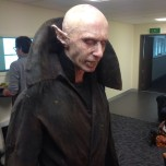 'Look who I just met Petyr from What we do in the Shadows #ArmageddonExpo #awesomenessness'
