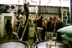 Behind the scenes for the NZ Beer Calendar